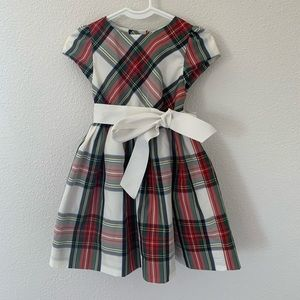 Ralph Lauren Tartan Plaid Toddler Baby Girls Dress
